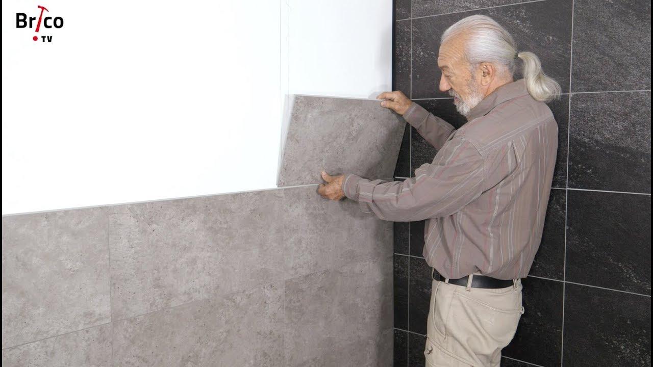 Comment Poser Baguette D Angle Carrelage poser du carrelage mural composite - tuto bricolage ave